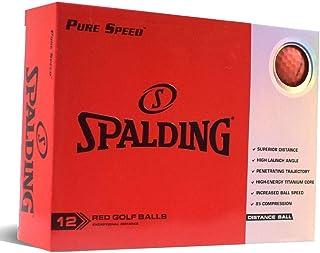 Spalding Pure Speed 12 球装 - 红色