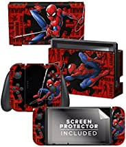 "Controller Gear 正品官方*任天堂 Switch Skin Marvel - 蜘蛛侠 ""Web Slinger"" -"