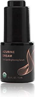 Azurine Dream 皮肤护理精华 - 去除黑眼圈,含有蘑菇提取物,海带,15 毫升,0.5 液体盎司