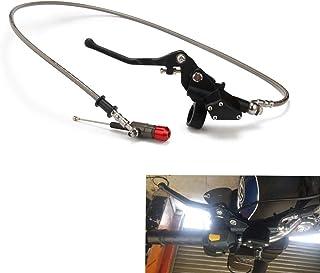 摩托车 1200 毫米液压离合拉杆主缸适用于 125CC-250CC 150CC 200CC 越野车 - 黑色