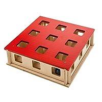 Ferplast 魔法盒猫玩具,红色