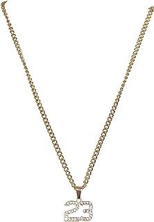 Urban Classics 23 钻石项链袖扣,金色,均码