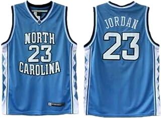 Mandelaf jsha 新大学 23 蓝色运动篮球运动衫 儿童/青年