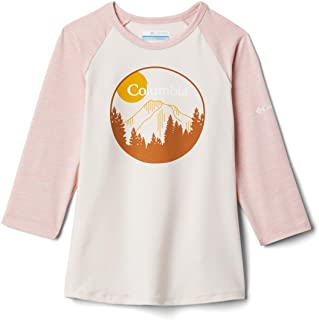 Columbia 中性儿童户外元素七分袖衬衫 Ss21