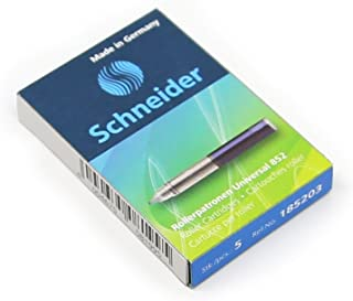Schneider 施耐德 墨水走珠笔芯852蓝(5支/盒)