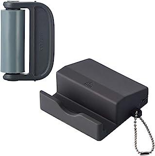 Lihit Lab 屏幕清洁器 带支架 黑色 A7790-24
