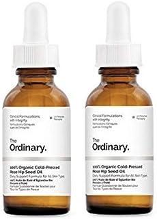 The Ordinary * 有机冷粉玫瑰种子油 30ml 2组