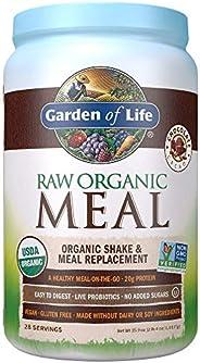 Garden of Life 生命花园 植物蛋白代餐粉,巧克力口味,素食,不含麸质,35.9盎司(1,017g)