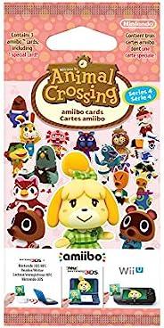Nintendo 任天堂 Amiibo 动物之森卡片包(4系列)