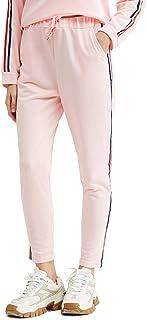 URLAZH 女式运动裤抽绳锻炼瑜伽裤带口袋