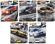 Mattel HOT WHEEL WILD SPEED PREMIUM 风火轮汽车模型混合装 FAST TUNERS 2020 Mix1 迷你车 10台装 盒装销售 GBW75-986F 日产Silvia(2台)日产24