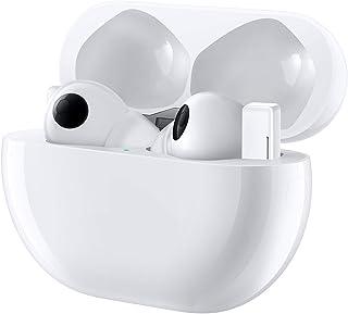 HUAWEI 华为 FreeBuds Pro 真无线蓝牙耳机带智能降噪(动态降噪),3 麦克风系统,无线快速充电,陶瓷白色