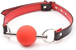 红色嘴塞橡胶透气女士家庭瑜伽道具
