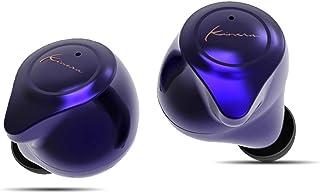 Kinera YH623 蓝牙耳机,TWS 真正的无线耳塞,带充电盒,适用于安卓 APTX 蓝牙 5.0 QCC3020 300H 待机时间立体声高保真声音高清通话 CVC8.0 英寸耳机运动耳机