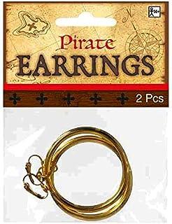 环状耳环 - 有趣的海盗配件