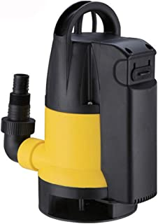 Trupow 1HP 110V 潜水式电动排水管泛光清洁/脏水转移集水泵,内置自动开/关开关