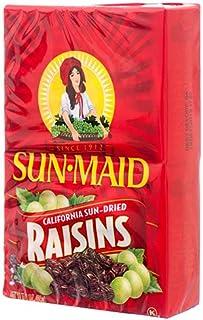 Sun New 376427 Maid 3 盎司(约 907.2 毫升)Raisins 2 件装(12 件装)零食批发散季零食小烛台