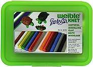 Weiblespiele 08340-2 – 学校橡皮泥,带12卷橡皮泥,*
