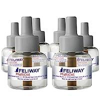 FELIWAY MultiCat 舒缓扩散器 替换装(6 包,48 ml) | *推荐 | 减少猫之间的对抗和冲突