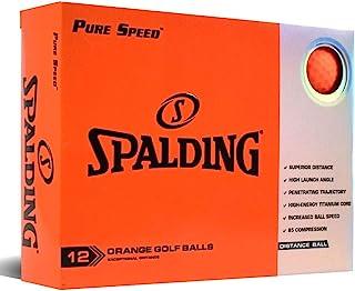 Spalding Pure Speed 12 球装 - 橙色