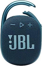 JBL CLIP 4 Bluetooth音箱 USB C充电/IP67防尘防水/搭载无源*器/便携/2021年款 蓝色 JBLCLIP4BLU 【国内正规品/一年质保】