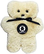 FLATOUTbear * 澳大利亞羊皮泰迪熊 - 原產地:2001 蜂蜜色