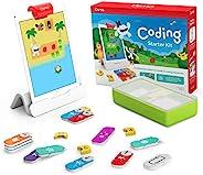 Osmo iPad编码入门套件-3个教育学习游戏-适合5-10岁以上的人群-学习编码,编码基础和编码难题-STEM玩具(包括Osmo iPad底座)
