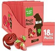 Bear Yoyo水果卷20克(18支装)草莓口味