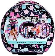 L.O.L. Surprise! O.M.G. 时尚衣橱随身携带滚动存储器适合 4 个时尚娃娃加配件