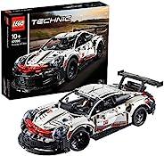 LEGO 乐高 Technic 玩具组装车 男孩类型的车 Porsche 911 RSR 42096