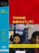 Think About It!: Thinking Skills Activities for Years 3 and 4 (Nace/fulton S.) (English Edition)