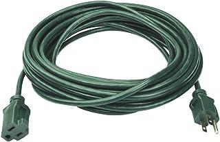 Prime 电线& 电缆 EC880625 63.5 英尺 16/3 SJTW 草坪和花园室外延长线,绿色 绿色 1包 EC880625