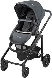 Maxi-Cosi 迈可适 Lila CP 舒适婴儿车,可折叠,6个月至4岁,0-22千克,基本石墨色(灰色)