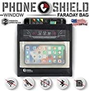 Mission Darkness Window Faraday 手机袋 - 设备屏蔽用于执法、军事、行政隐私、旅行和数据*、防黑客和防追踪*