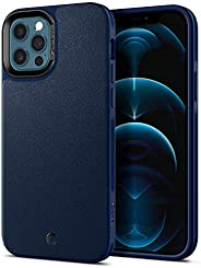 CYRILL 皮革砖专为苹果 iPhone 12 手机壳(2020),iPhone 12 Pro 手机壳(2020) - *蓝