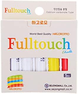 Hagoromo Fulltouch 3 色混合粉笔(小号包装)1 盒(5 件)白色、红色、黄色