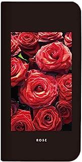 Mitas HUAWEI 华为 nova lite2 手机壳 手账型 无带 自然 花 植物 A・ROSE (384)NB-0264-A/nova lite2