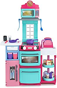 Little Tikes 小泰克 多功能折叠便携厨房 粉色