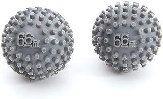 66fit 手和脚按摩球 x 2 件 - 应力反射学触发点肌筋膜释放球