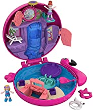 Polly Pocket FRY38 火烈形游泳圈首饰盒玩偶小世界玩具套组 收集类少女玩具 4岁+