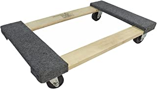 Forearm Forklift FFMD 经济型移动多莉推车,带地毯顶部,600 磅容量,18 英寸 x 30 英寸