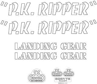 SE 自行车 PK Ripper 贴花套装