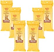 Burt's Bees dander reducing grooming 湿巾猫50湿巾 每