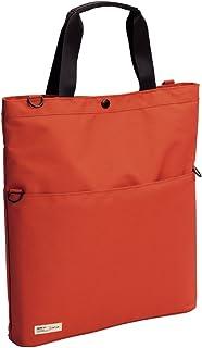 LIHIT LAB. 喜利 日本原裝進口smart fit系列便攜包A-7583 B4/A4隨意變便攜挎包 (不含肩帶) 4#橙色