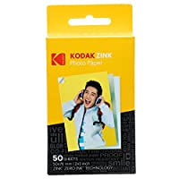 Kodak 2x3 膠底板 Zink 相片紙 50 Pack