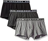 HUGO BOSS 男士 弹力棉质普通款内裤 3件装