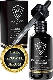 VANTAGGIO & Co. 电子整流器/变压器 *洗发水 - 促进男士*生长和加厚 - DHT 阻滞剂对抗稀疏和芦荟 Hair Loss Scalp Treat