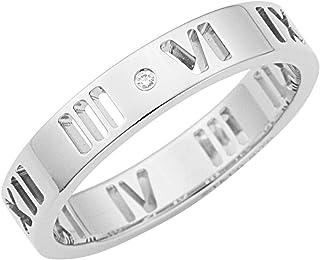 [ 蒂芙尼 ] Tiffany 钻石0.01CT 18K 白金 Atlus 指环戒指【平行进口商品】