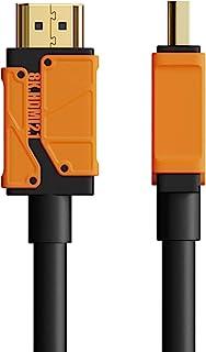 HDMI 2.1 电缆,Hagibis 8K 48Gbps 超高速 HDMI 线,8K60Hz 4K120Hz 144Hz eARC HDR HDCP 2.2 2.3 兼容 Roku 三星 Sony LG Xbox PS4/5 开关(全新 0....