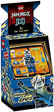 LEGO 71715 NINJAGO Jay Avatar - Arcade Pod 便携式玩具套装,可收藏 Prime Empire 儿童忍者玩具